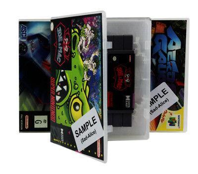 Bounty Bob Strikes Back! Atari 5200 Spare Game Case Box + Cover Art (No Game) 3
