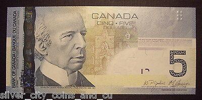 Canada BC-67bA $5 Replacement APN0977128 -  GemUnc 2