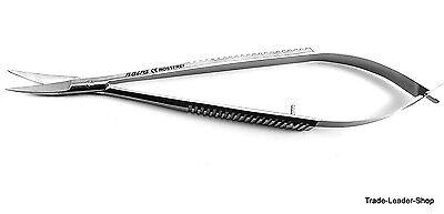 Castroviejo Ciseaux Petit 14 cm Courbé Chirurgicale Dentaire Couture Natra 2