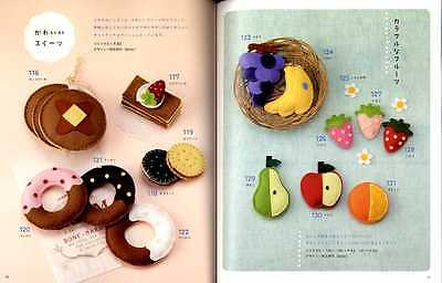 Easy Kawaii Felt Handmade Mascots Japanese Craft Book 22 00