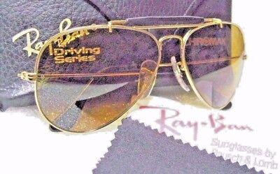 9485f2cfdd ... Ray-Ban USA NOS Vintage B L Aviator Chromax W1663 Driving Series NEW  Sunglasses 3