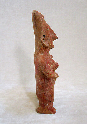 Pre-Columbian JALISCO STANDING FEMALE FIGURE, ca. 300 BC - AD 300 4