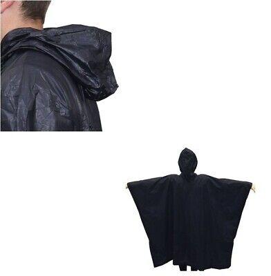Chubasquero impermeable capa con capucha poncho 5