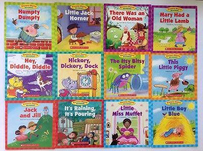 Nursery Rhyme Childrens Books Beginning Readers Lot 12 11