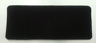 federal officer us bureau of prisons emb patch 4x10 /&2x5 hook on back gray
