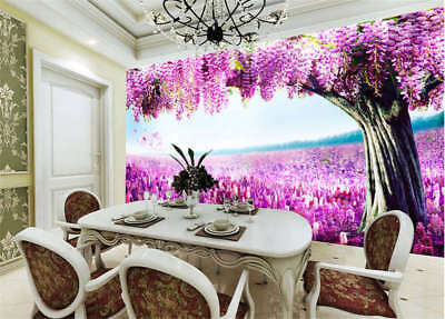 Coherent Vast Field 3D Full Wall Mural Photo Wallpaper Printing Home Kids Decor