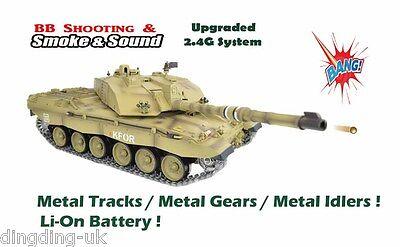 2d9f992d8e2e HENG LONG 1 16 British Challenger 2 RC Tank - 2.4GHz - Pro Version ...