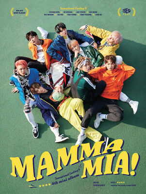 SF9-[Mamma Mia!] 4th Mini Album Special Edition CD+Booklet+PhotoCard+Mark+Gift 6