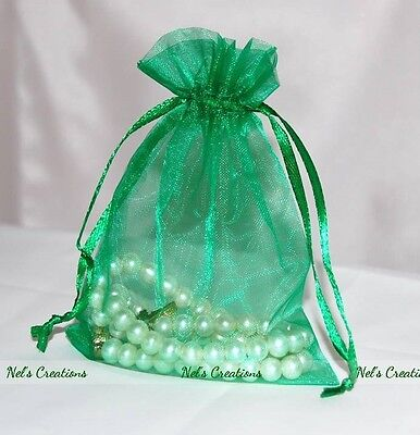 Organza Bag Sheer Bags Jewellery Wedding Candy Packaging Beads Gift 100 /50 / 25 6
