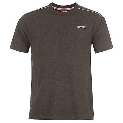 Mens Slazenger Short Sleeves Plain Crew Neck Lightweight T-Shirt Top Sizes S-4XL 6