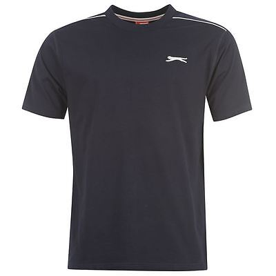 Mens Slazenger Short Sleeves Plain Crew Neck Lightweight T-Shirt Top Sizes S-4XL 5