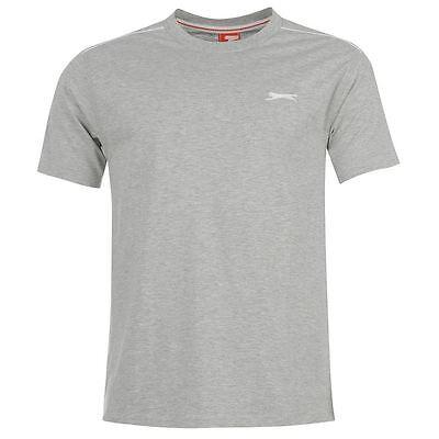 Mens Slazenger Short Sleeves Plain Crew Neck Lightweight T-Shirt Top Sizes S-4XL 9