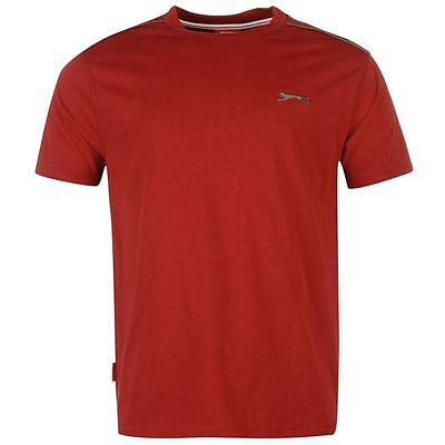 Mens Slazenger Short Sleeves Plain Crew Neck Lightweight T-Shirt Top Sizes S-4XL 10