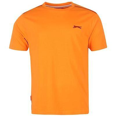 Mens Slazenger Short Sleeves Plain Crew Neck Lightweight T-Shirt Top Sizes S-4XL 8