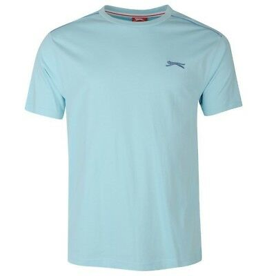 Mens Slazenger Short Sleeves Plain Crew Neck Lightweight T-Shirt Top Sizes S-4XL 2