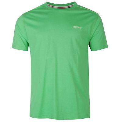 Mens Slazenger Short Sleeves Plain Crew Neck Lightweight T-Shirt Top Sizes S-4XL 3