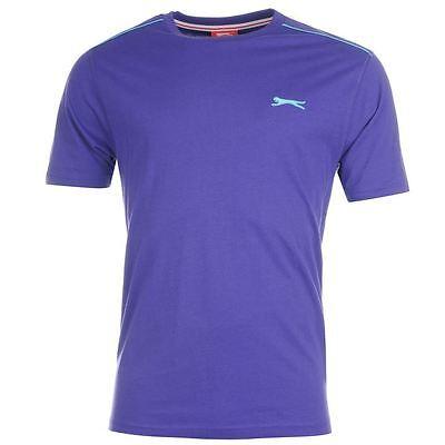 Mens Slazenger Short Sleeves Plain Crew Neck Lightweight T-Shirt Top Sizes S-4XL 4