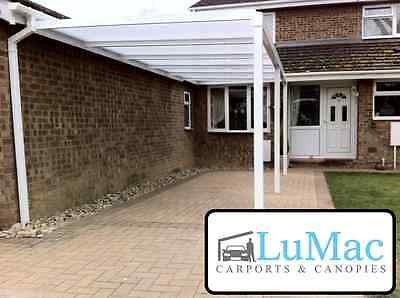3 Of 12 Fixed Garden Canopy Waterproof Patio Cover Shelter Lean To Pergola  Awning.
