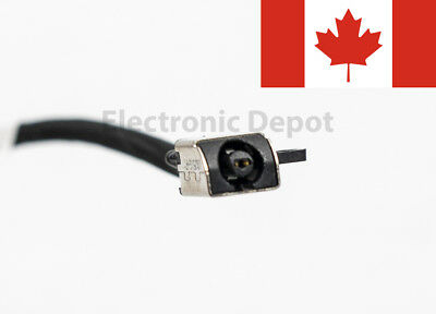 New Dell Inspiron 15 5565 5566 5567 17 5765 5767 DC Jack w/ Cable R6RKM 0R6RKM 3