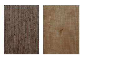 Furnier Set Ahorn Eiche Nussbaum Buche. Basteln Modellbau Restaurierung Holz DIY 7