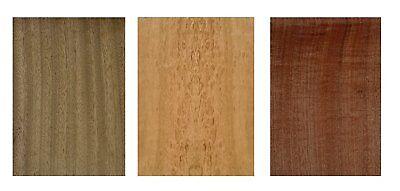 Furnier Set Ahorn Eiche Nussbaum Buche. Basteln Modellbau Restaurierung Holz DIY 5