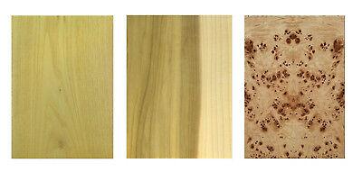 Furnier Set Ahorn Eiche Nussbaum Buche. Basteln Modellbau Restaurierung Holz DIY 2
