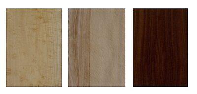 Furnier Set Ahorn Eiche Nussbaum Buche. Basteln Modellbau Restaurierung Holz DIY 4