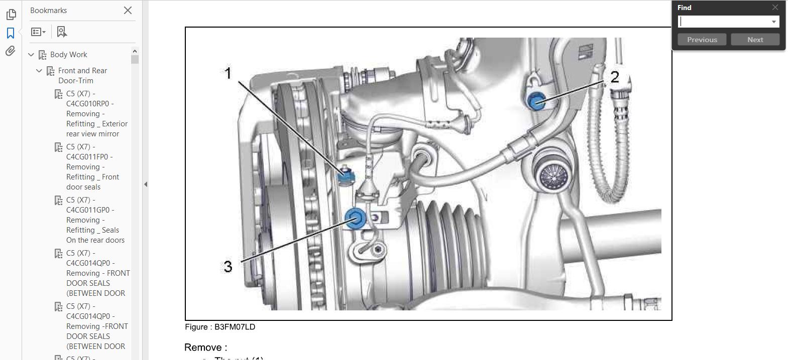 Official Workshop Manual Service Repair Citroen C5 Iii 2007 2015 C25 Wiring Diagram