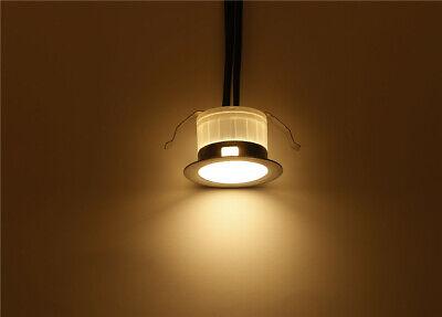 FVTLED 10x Lampe de Spot A LED pour Terrasse Enterre IP67 DC12V Blanc hot 5