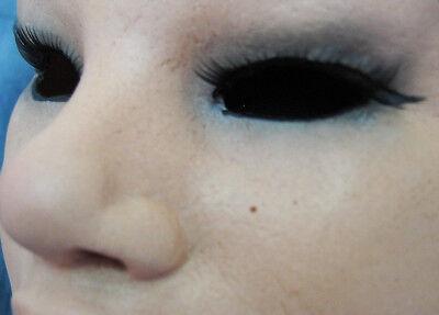 Latexmaske MAYLEE B +WIMPERN - Real. weibliche Frauenmaske Gummi Crossdresser 3