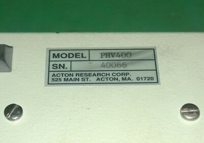 ARC PHV400 HV Power supply w/ PD439 Detector,PMT R928 (#2864) 3