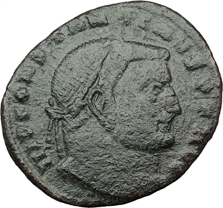 Constantine I The Great 313AD Ancient Roman Coin Nude Jupiter w Nike  i32449 2
