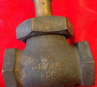 "Vintage Crane 1-1/2"" Valve Class 250 Heavy Duty"