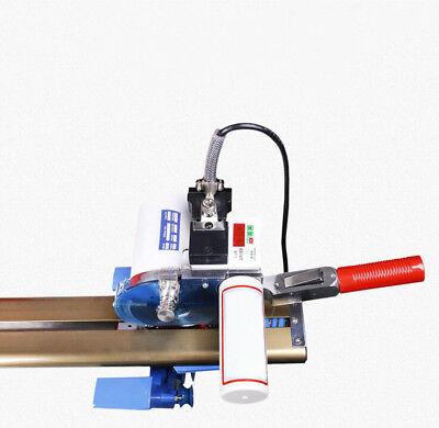 "110V Fbric Cutter w/87"" Rack & Digital Counter Delay Function High Speed Motor 6"