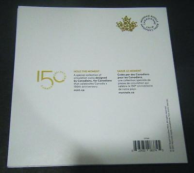 2017 Canada 150th Anniversary Collector 7 Coin Set $2 $1 25c 10c 5c Card Holder 4