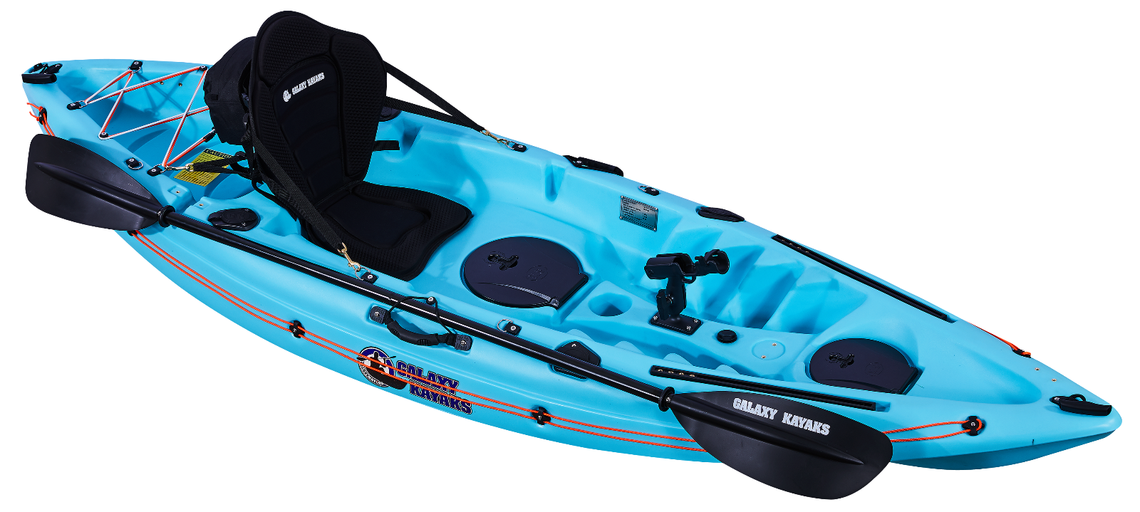 SIT ON TOP GALAXY MARLIN SEA LAKE FISHING LEISURE KAYAK CANOE