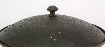 Great Old Islamic Mughal C 1750 Collectible Copper Pot Rich Patina. G3-29 US 5