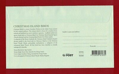 2002 Christmas Island Birds SG 507/10 FDC or fine used set