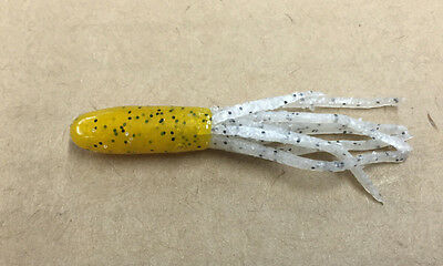 """choose color Fishing LuresTwo inch jig USA 2/"""" Dipped Crappie Tubes 500 pack"""