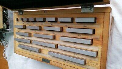 Precision Metric Gauge Block  5 15  25  30 50 70 80 100 mm New class 1 20pc 4