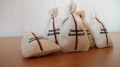 als Ladegut 45mm 5 gefüllte Post Säcke für ihre LGB Bahn Spur G