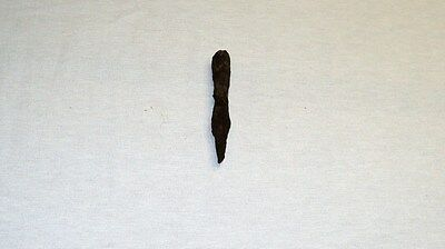 "ANTIQUE LATE ROMAN/EARLY BYZANTINE IRON SPEAR POINT 110 mm (4.3"") 1st-4th C. A.D 3"