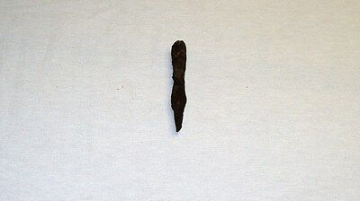 """UNIQUE ANCIENT LATE ROMAN/EARLY BYZANTINE IRON SPEAR POINT 110mm 4.3"""" 1-4 C. A.D 3"""
