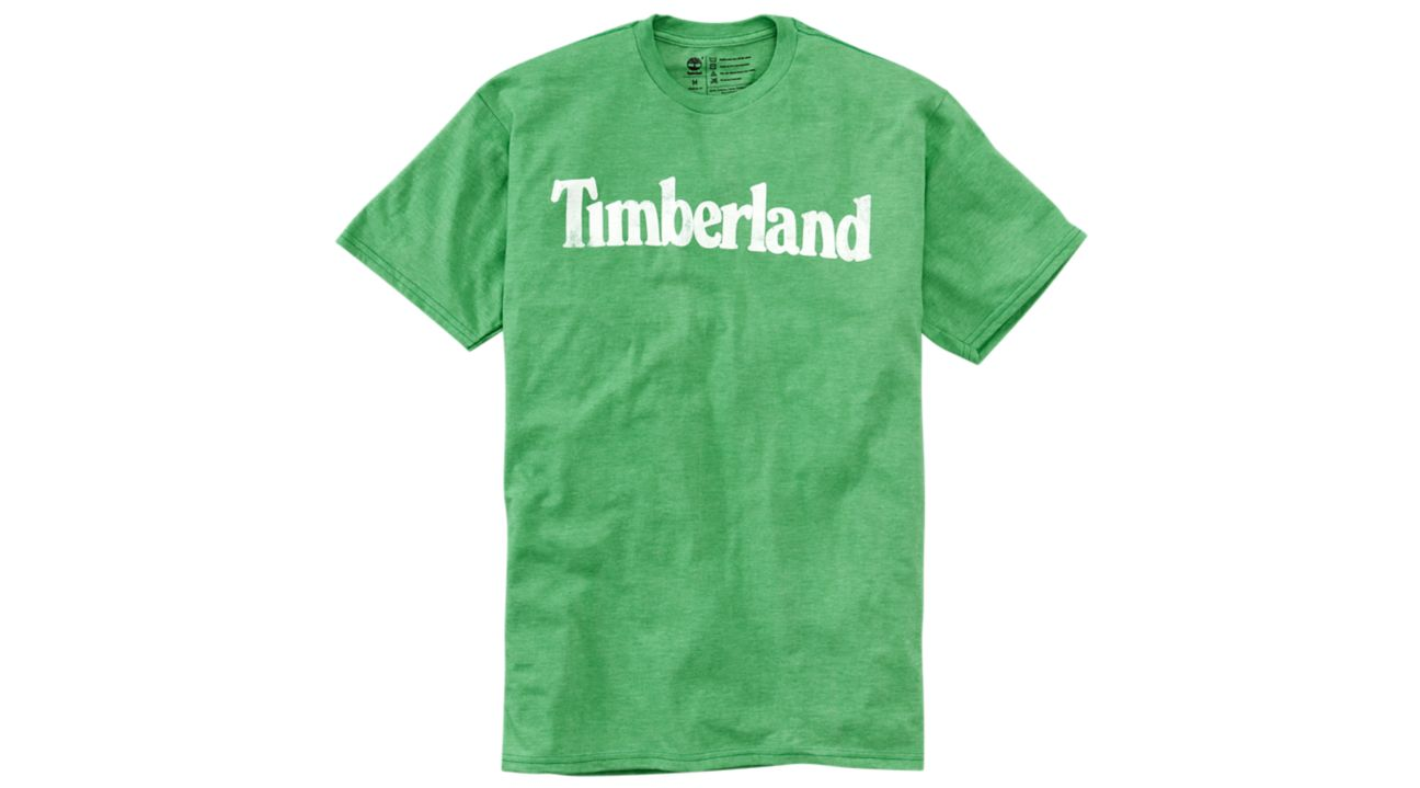 NWT Timberland Men's Faded Linear Logo Short Sleeve Crew Neck T Shirt A11GY NEW 12