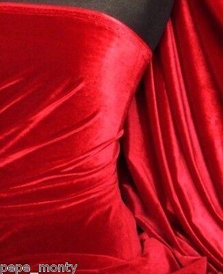 Micro Velvet Velour Fabric Luxuriously Soft Velvet Material MVEL22 5
