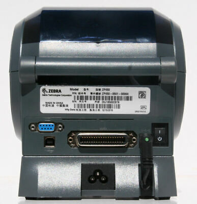 ZEBRA ZP450 DIRECT Thermal Shipping Label Printer Bundle + 1000 Labels