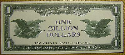 100 Zillion Dollar Novelty Money Bills #355
