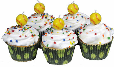 NEW//NIP Fastpitch Softball Cupcake Tins 36 pack Birthday//Team Party