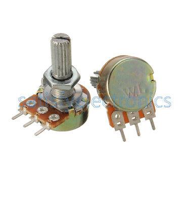10pcs WH148 B5K 5K OHM Linear Taper Rotary Potentiometer 5KB B5K Pot