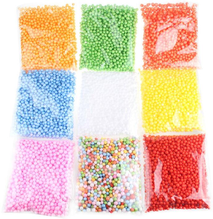 HOT!!! Assorted Colors Polystyrene Styrofoam Filler Foam Mini Beads Balls Crafts 5